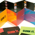 Gunn Design Brochure system of one card, 2 4 page brochures and one 12 panel accordian brochure